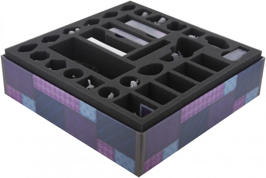 foam sorter for stuffed faibles in box